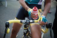 cross nails by Nikki Harris (GBR/Telenet-Fidea)<br /> <br /> GP Neerpelt 2014