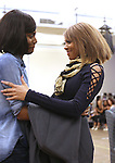 Jasmin Richardson and Deborah Cox perform during North American Premiere presentation of 'The Bodyguard' at The New 42nd Street Studios on November 10, 2016 in New York City.