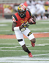 Maryland Terrapins Levern Davis (8) during a game against the Richmond Spiders on September 5 2015 at Byrd Stadium in College Park, MD. Maryland beat Richmond 51-21.