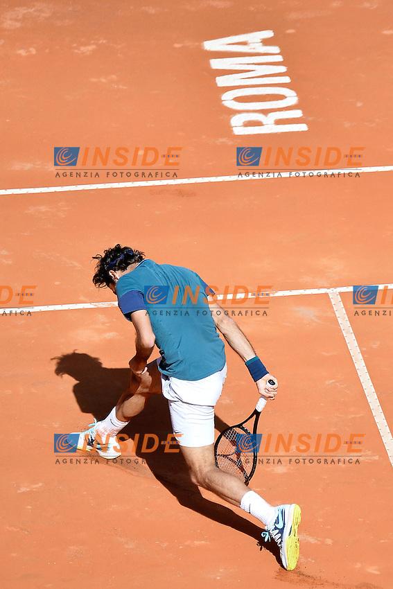Roger Federer Switzerland dejection. Delusione <br /> Roma 14-05-2014 Foro Italico, Internazionali d'Italia di Tennis. Foto Andrea Staccioli / Insidefoto