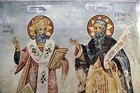 BG51475.JPG BULGARIA, BATCHKOVO MONASTERY, CHURCH OF SVETA-BOGORODITSA , 1604, frescoes