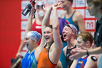 Picture By Allan Mckenzie/SWpix.com - 28/10/2017 - Swimming - Swim England Masters National Champs - Ponds Forge International Sports Centre, Sheffield, England - Silver City win the Womens open 800m freestyle.