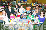 AT PLAY: Some of the mums and toddlers at the weekly Milltown-Listry mothers and toddlers group in Faha Community Centre on Friday.