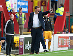 Motherwell v St Johnstone&hellip;13.08.16..  Fir Park  SPFL<br />Tommy Wright<br />Picture by Graeme Hart.<br />Copyright Perthshire Picture Agency<br />Tel: 01738 623350  Mobile: 07990 594431