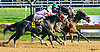 Holiday Touch #1 and Peteizum #4 both winning in a dead heat at Delaware Park on 10/13/16