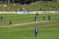 Action from the Burger King Super Smash Twenty20 cricket match between the Wellington Firebirds and Otago Volts at Basin Reserve in Wellington, New Zealand on Friday, 28 December 2018. Photo: Dave Lintott / lintottphoto.co.nz