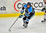 21 February 2009: University of Maine Black Bears' forward Vanessa Vani, a Senior from St. Catharines, Ontario, in action against the University of Vermont Catamounts at Gutterson Fieldhouse in Burlington, Vermont. The Catamounts shut out the Black Bears 1-0. Mandatory Photo Credit: Ed Wolfstein Photo