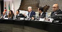 ATENÇÃO EDITOR: FOTO EMBARGADA PARA VEÍCULOS INTERNACIONAIS. - SAO PAULO, SP, 23 DE OUTUBRO 2012 - ENCONTRO NA FIESP COM CANDIDATOS À PRESIDÊNCIA DA ORDEM DOS ADVOGADOS-SP - Federação das Indústrias promove encontro com os candidatos à presidência da Ordem dos Advogados do Brasil (OAB), seção São Paulo. A finalidade é possibilitar que os quatro concorrentes apresentem suas propostas aos empresários e advogados de empresas associadas ao CIESP/FIESP.Nesta terça 23. (FOTO:  LEVY RIBEIRO / BRAZIL PHOTO PRESS).