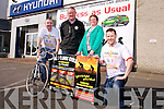 Maurice Brosnan, Mick Galway, Elma Walsh and Tony Galway  launch the 3 Climbs Cycle in aid of Donal Walsh Foundation on Saturday May 10th