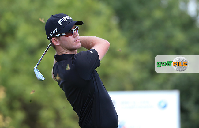 Brandon Stone (RSA) in action during Round Two of the 2016 BMW SA Open hosted by City of Ekurhuleni, played at the Glendower Golf Club, Gauteng, Johannesburg, South Africa.  08/01/2016. Picture: Golffile | David Lloyd<br /> <br /> All photos usage must carry mandatory copyright credit (&copy; Golffile | David Lloyd)