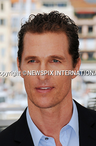 "Cannes,24.05.2012: MATHEW McCONAUGHEY.at ""The Paperboy""  photocall, 65th Cannes International Film Festival..Mandatory Credit Photos: ©Traverso-Photofile/NEWSPIX INTERNATIONAL..**ALL FEES PAYABLE TO: ""NEWSPIX INTERNATIONAL""**..PHOTO CREDIT MANDATORY!!: NEWSPIX INTERNATIONAL(Failure to credit will incur a surcharge of 100% of reproduction fees)..IMMEDIATE CONFIRMATION OF USAGE REQUIRED:.Newspix International, 31 Chinnery Hill, Bishop's Stortford, ENGLAND CM23 3PS.Tel:+441279 324672  ; Fax: +441279656877.Mobile:  0777568 1153.e-mail: info@newspixinternational.co.uk"