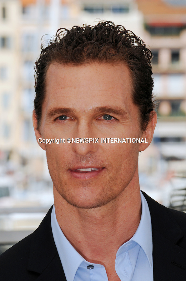 """Cannes,24.05.2012: MATHEW McCONAUGHEY.at """"The Paperboy""""  photocall, 65th Cannes International Film Festival..Mandatory Credit Photos: ©Traverso-Photofile/NEWSPIX INTERNATIONAL..**ALL FEES PAYABLE TO: """"NEWSPIX INTERNATIONAL""""**..PHOTO CREDIT MANDATORY!!: NEWSPIX INTERNATIONAL(Failure to credit will incur a surcharge of 100% of reproduction fees)..IMMEDIATE CONFIRMATION OF USAGE REQUIRED:.Newspix International, 31 Chinnery Hill, Bishop's Stortford, ENGLAND CM23 3PS.Tel:+441279 324672  ; Fax: +441279656877.Mobile:  0777568 1153.e-mail: info@newspixinternational.co.uk"""