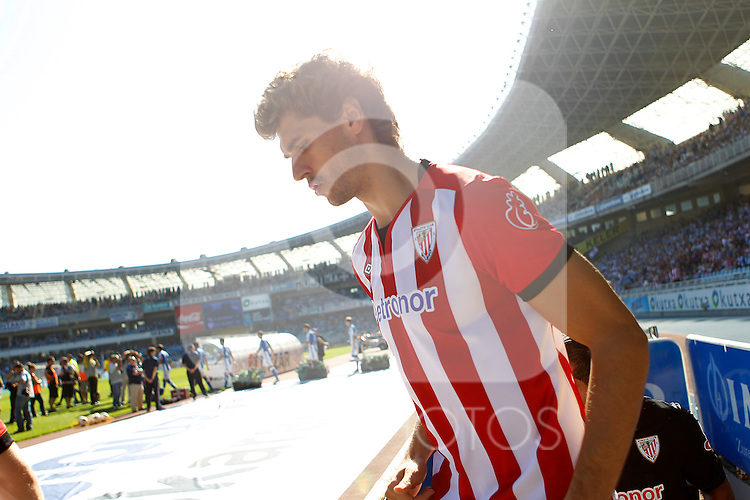 Athletic de Bilbao's Fernando LLorente during La Liga match.October 2,2011. (ALTERPHOTOS/Acero)