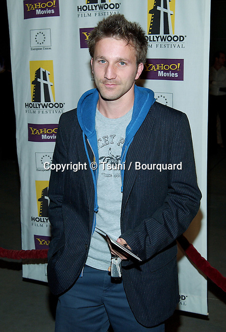 Breckin Meyer arriving at the Hollywood Film Festival's Opening Night: The Ring premiere at the ArcLight Theatre in Los Angeles. October 2, 2002.          -            MeyerBreckin27.jpg
