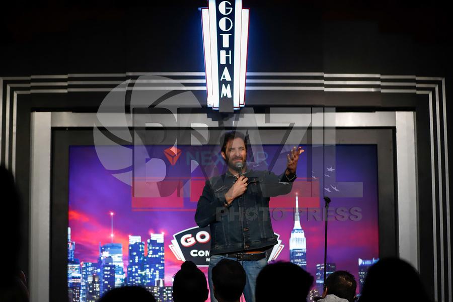 NOVA YORK, EUA, 16.01.2018 - RAFINHA-BASTOS - O humorista brasileiro Rafinha Bastos durante apresentação de seu show no Gotham Comedy Club em Nova York nesta quarta-feira, 16. (Foto: Vanessa Carvalho/Brazil Photo Press)