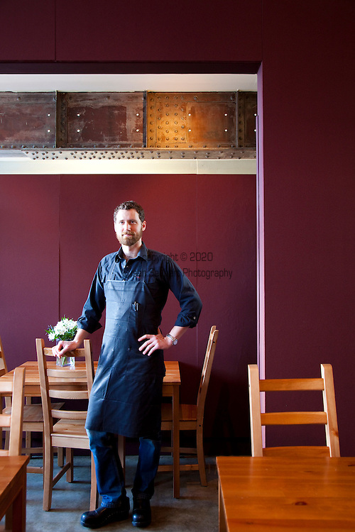 Brunch at Simpatica, a catering company that offers dinner on Friday and Saturday nights, plus a Sunday Brunch.  Located in SE Portland, Oregon. Chef Scott Ketterman