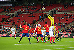 Plenty of empty seats after half time during the friendly match at Wembley Stadium, London. Picture date November 15th, 2016 Pic David Klein/Sportimage