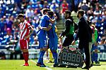 Getafe CF's Francisco Portillo and Jaime Mata  during La Liga match. May 05,2019. (ALTERPHOTOS/Alconada)