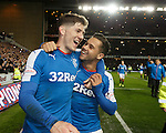 Rob Kiernan and Harry Forrester