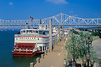 Belle of Louisville docked at Waterfront Park, Louisville, Kentucky