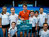 Alphen aan den Rijn, The Netherlands, 25 Januari 2019, ABNAMRO World Tennis Tournament, Supermatch,Final,  Ryan Nijboer  (NED)<br /> <br /> Photo: www.tennisimages.com/Henk Koster