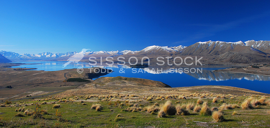 Lake Tekapo seen from Mount John, South Island