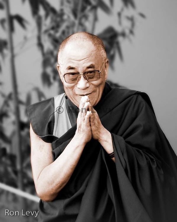 Tibetan greeting from His Holiness The Dalai Lama, Maui, 2008