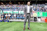 Solna 2015-07-12 Fotboll Allsvenskan AIK - GIF Sundsvall :  <br /> AIK:s chefstr&auml;nare tr&auml;nare Andreas Alm inf&ouml;r matchen mellan AIK och GIF Sundsvall <br /> (Foto: Kenta J&ouml;nsson) Nyckelord:  AIK Gnaget Friends Arena Allsvenskan GIF Sundsvall Giffarna portr&auml;tt portrait tr&auml;nare manager coach