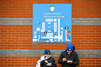 Leeds United fans grab a bite to eat outside Elland Road<br /> <br /> Photographer Alex Dodd/CameraSport<br /> <br /> The EFL Sky Bet Championship - Leeds United v Bristol City - Saturday 24th November 2018 - Elland Road - Leeds<br /> <br /> World Copyright &copy; 2018 CameraSport. All rights reserved. 43 Linden Ave. Countesthorpe. Leicester. England. LE8 5PG - Tel: +44 (0) 116 277 4147 - admin@camerasport.com - www.camerasport.com