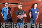 Local band, No Direction to headline the Friday nights music line up pictured last Friday night was l-r: Scott Fitzgerald, Sean Tierney and Conor Lane in Riordan's Bar for the launch of Gather by the Feale