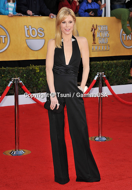 17th SAG Awards at the Shrine Theatre In Los Angeles.<br /> Julie Bowen