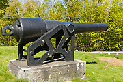 4.2-inch (30-pdr) Parrott rifle in Dover, New Hampshire USA