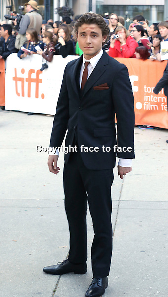 Daniel Bruhl attending the 2013 Tiff Film Festival Red Carpet Arrivals for &quot;The Fifth Estate&quot; at Roy Thomson Hall on September 5, 2013 in Toronto, Canada.<br /> Credit: McBride/face to face