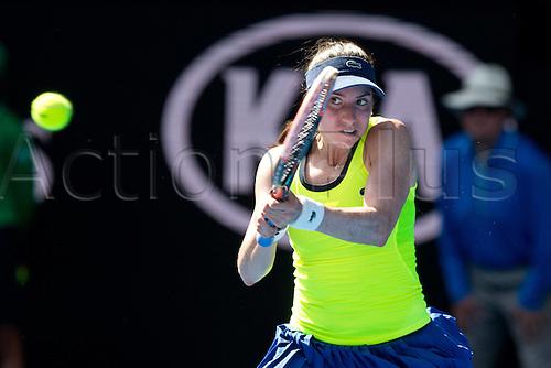 18.01.2016. Melbourne Park, Melbourne, Australia. Australian Open Tennis championships. Christina Michale (USA) ladies singles