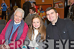 PARISH: Enjoying a great time at St John's Parish Annual Bazaar at the KDYS hall, Tralee on Sunday l-r: Gortti Griffin, Moyderwell and Mikayla and Daniel Manusell, Castleisland.
