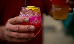LOUISVILLE, KY - MAY 03: A man drinks an Oaks Lily during Thurby at Churchill Downs on May 3, 2018 in Louisville, Kentucky. (Photo by Scott Serio/Eclipse Sportswire/Getty Images)