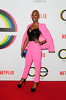 "LOS ANGELES - FEB 7:  Obiageliaku Anusionwu at the ""Queer Eye"" Season One Premiere Screening at the Pacific Design Center on February 7, 2018 in West Hollywood, CA"