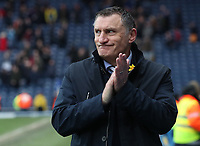 Blackburn Rovers Manager Tony Mowbray at the end of the game<br /> <br /> Photographer Rachel Holborn/CameraSport<br /> <br /> The EFL Sky Bet League One - Blackburn Rovers v Blackpool - Saturday 10th March 2018 - Ewood Park - Blackburn<br /> <br /> World Copyright &copy; 2018 CameraSport. All rights reserved. 43 Linden Ave. Countesthorpe. Leicester. England. LE8 5PG - Tel: +44 (0) 116 277 4147 - admin@camerasport.com - www.camerasport.com