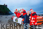 Launching the Christmas Day swim in Ballybunion at Ladies Beach at 12.30, all welcome. Pictured at the launch were l-r   TJ McCarron, Ann Meehan, Jonathan Mahony Jim Enright and Frank O'Connor