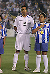 Honduras's Ivan Guerrero on Tuesday, March 27th, 2007 at SAS Stadium in Cary, North Carolina. The Honduras Men's National Team defeated El Salvador 2-0 in a men's international friendly.