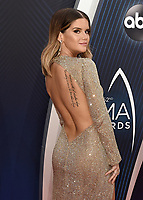NASHVILLE, TN - NOVEMBER 14:  Maren Morris at the 52nd Annual CMA Awards at the Bridgetone Arena on November 14, 2018 iin Nashville, Tennessee. (Photo by Scott Kirkland/PictureGroup)