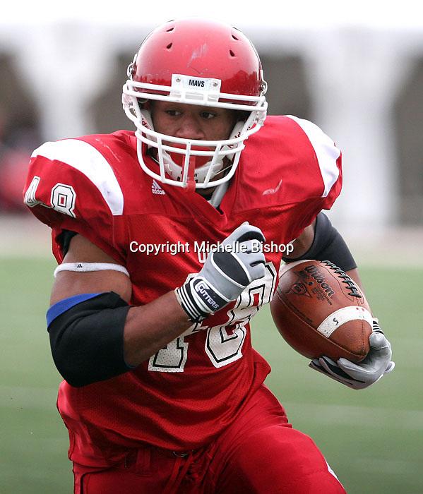 Nebraska-Omaha freshman tailback Levi Terrell.