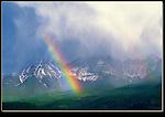 Rainbow over the Sneffels Range, San Juan Mountains, Ridgeway, Colorado. John guides custom photo tours in the Sneffels Range and throughout Colorado.
