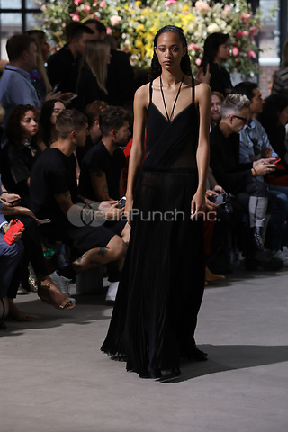 Jason Wu<br /> catwalk fashion show at New York Fashion Week<br /> Spring Summer 2018<br /> in New York, USA September 2017.<br /> CAP/GOL<br /> &copy;GOL/Capital Pictures /MediaPunch ***NORTH AND SOUTH AMERICAS ONLY***