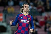 2nd February 2020; Camp Nou, Barcelona, Catalonia, Spain; La Liga Football, Barcelona versus Levante; Antoine Griezmann of FC Barcelona breaks forward as Barcelona go into attack