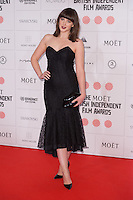Alexandra Roach arriving for the Moet British Independent Film Awards 2014, London. 07/12/2014 Picture by: Alexandra Glen / Featureflash