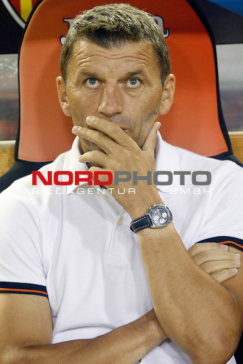 Valencia's coach Miroslav Djukic during La Liga match.September 1,2013. Foto © nph / Acero)