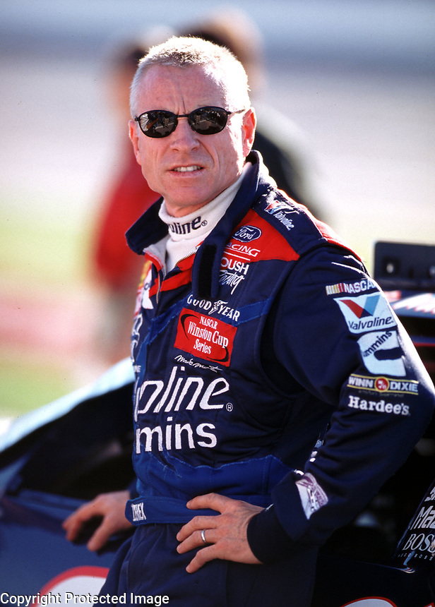 Mark Martin at Talladega, AL in October 2000. (Photo by Brian Cleary)