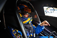 Feb 2, 2017; Chandler, AZ, USA; NHRA funny car driver Ron Capps during Nitro Spring Training preseason testing at Wild Horse Pass Motorsports Park. Mandatory Credit: Mark J. Rebilas-USA TODAY Sports