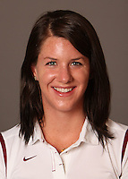 STANFORD, CA - SEPTEMBER 10:  Julia Smit of the Stanford Cardinal during women's swimming picture day on September 10, 2009 in Stanford, California.